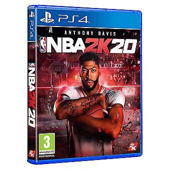 NBA 2K20 PS4-spel