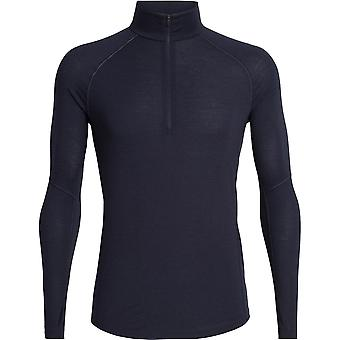 Icebreaker 150 Zone Long Sleeve Half Zip - Black/Mineral