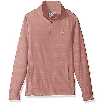 Billabong Big Morning Call Girls Fleece, Blush L