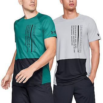 Under Armour Herren Mk1 Kurzarm Colorblock T-Shirt