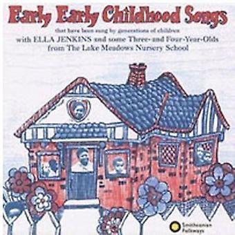 エラ ・ ジェンキンス - 早い幼年期初期の歌 [CD] USA 輸入