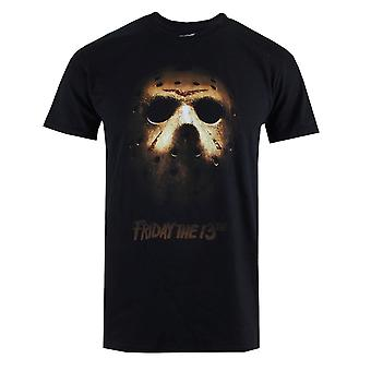 Friday 13th Jason Voorhees Mask Logo Official T-Shirt