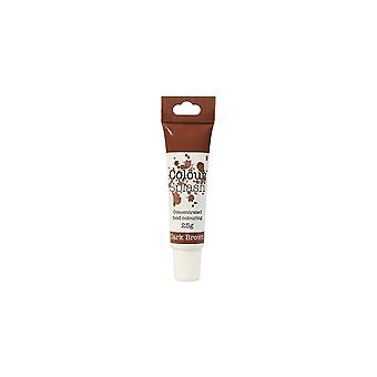 Colour Splash Food Colour Concentrated Gel Colouring 25g DARK BROWN