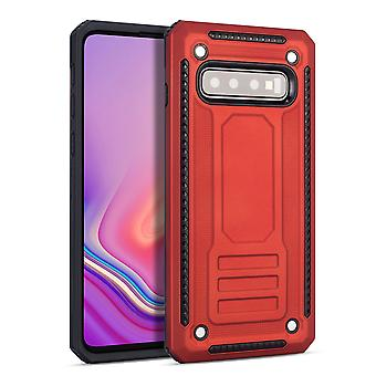 Pour Samsung Galaxy S10e Case, Armour Strong Shockproof Thin Tough Cover, Rouge