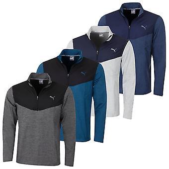 Puma Golf Herren Preston 1/4 Zip Durable Leicht leichter Golf Pullover
