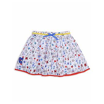 The Essential One Girls Blinky Bunny Print Skirt
