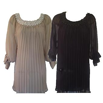 Robe de tunique Darling Women-apos;s Florie Pearl Neck