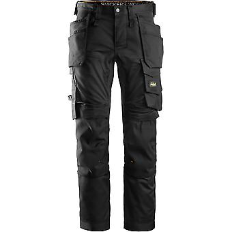 Snickers Mens All Round Multi Pocket Cargo Work Trousers