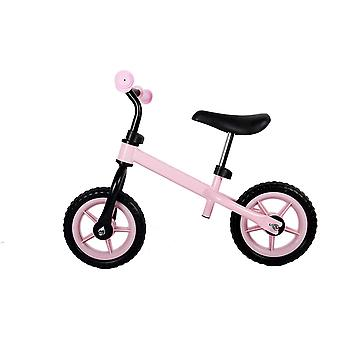 RideonToys4u Balance Bike with 10 inch EVA Wheels Pink Ages 3-6 Years