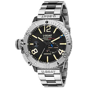 Sommerso Automatic Analog Men's Watch with 9007/A/MT Stainless Steel Bracelet