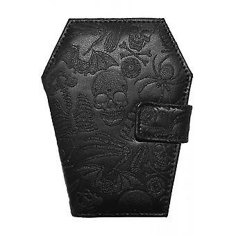 Kreepsville 666 Embossed Skull Coffin Wallet