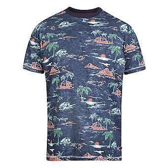 Hertug Herre Chester Kingsize Hawaiian T-shirt