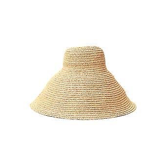 Jacquemus 201ac0420172120 Women's Beige Canvas Hat