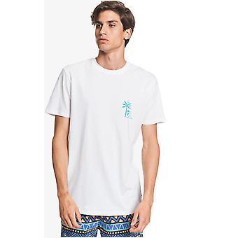 quiksilver morgen fugl kortermet t-skjorte i hvitt