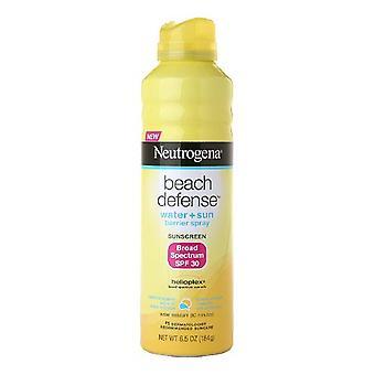 Neutrogena beach defense spray, sunscreen, spf 30, 6.5 oz