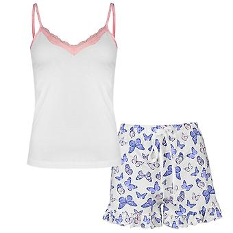 Rock and Rags femei doamnelor Bfly cami set