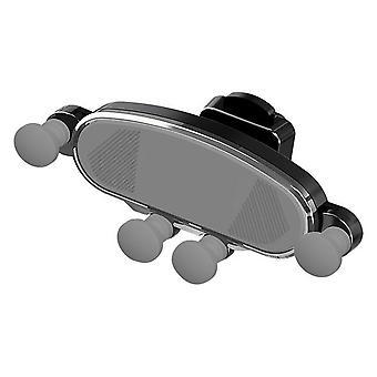 Bakeey luchtkussen zwaartekracht koppeling automatische lock air vent auto telefoon houder voor 4,0-6,5 inch smartphone iphone samsung huawei xiaomi xiaomi