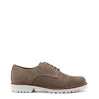 Made in Italia Original Women All Year Lace Up - Brązowy Kolor 30927