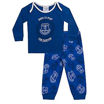 Everton FC Official Football Gift Boys Kids Baby Piżamy