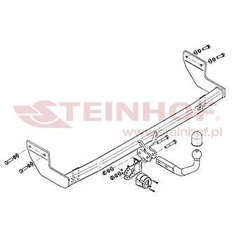 Steinhof Towbar (mocuje 2 śruby) dla Hyundai ix20 2010-2015