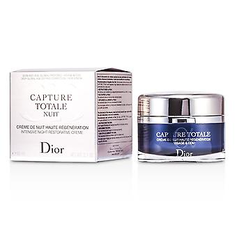 Capture totale nuit intensive night restorative creme (rechargeable) 178259 60ml/2.1oz