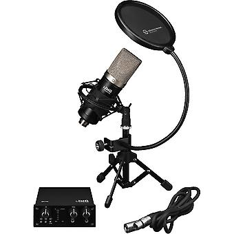 IMG Stageline Img Stageline Podcaster-1 Recording Bundle Pour podcasters