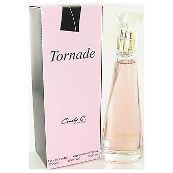 Tornade eau de pafum spray door cindy c. 500180 90 ml