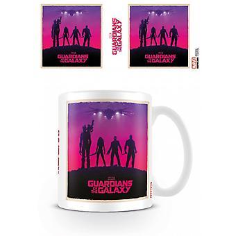 Guardians Of The Galaxy Ship Mug