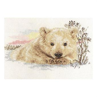 Alisa Cross Stitch Kit - Northern Bear Cub