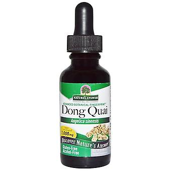 Nature's Answer Dong Quai Root 30ml 1352
