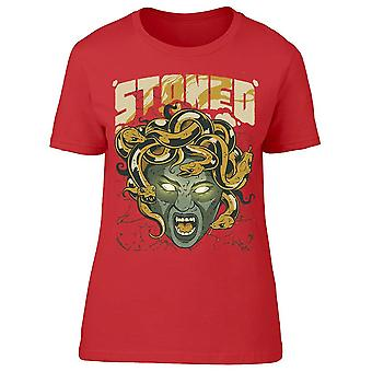 Stoned Snake Hair Medusa Women's T-shirt