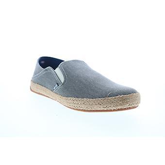 Ben Sherman Jenson Heel Slip On Mens Gray Canvas Sneakers Shoes