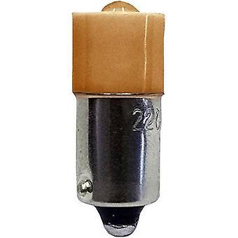 Wskaźnik LED Barthelme BA9S Amber 230 V AC 53120622