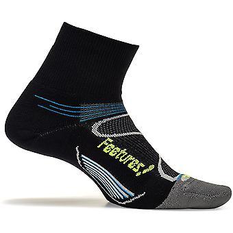 Feetures Unisex Elite Light Cushion Quarter Socks