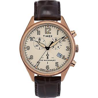 Timex klocka Klockor Waterbury 3G Chronograph TW2R88300 - Herrklocka