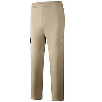 Allthemen Men's Multi-pocket Casual Pants