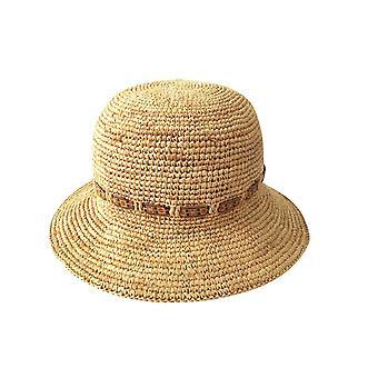 Jacaru 1846 raffia bowler hatt