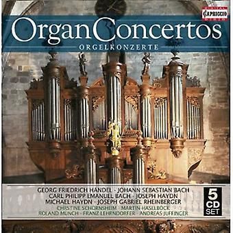 Handel/Bach, J.S./Bach, C.P.E./Haydn, J./Haydn, M./Moz - Organ Concertos [CD] USA import