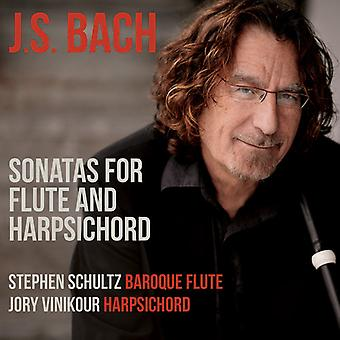 Sonatas For Flute & Harpsichord [CD] USA import