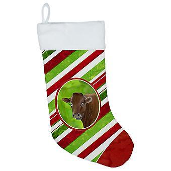 Lehmän tikkukaramelli Holiday joulua joulusukka