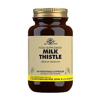 Milk Thistle (Milk Thistle) 100 vegetable capsules