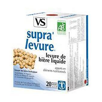 Organic Supra'levure 20 ampoules