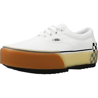 Vans Sport / Ua Era Gestapelte Farbe Weiße Schuhe