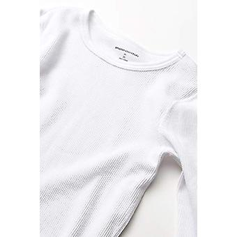 Essentials Boy's Thermal lange Unterwäsche Set, weiß, Medium