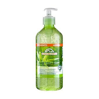 Aloe Vera Body Moisturizing Gel 500 ml of gel