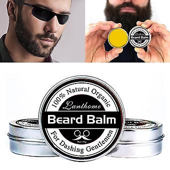 Men Natural Beard Conditioners Balm - Moisturizing Repair Split Ends Beard Soften
