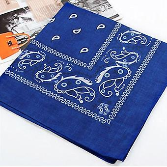 Vintage Head Wrap Neck Scarf Wristband Handkerchief for Men and Women
