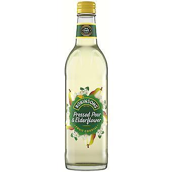 Robinsons Fruit Cordial Pear & Elderflower