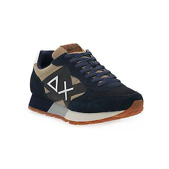 Sun68 0777 jaki solid bicolor sneakers fashion