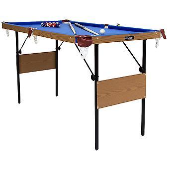 Charles Bentley 4ft 6in Blue Pool Spieltisch inklusive Bälle & 2 Cues